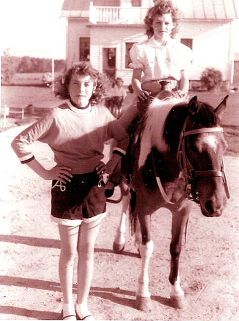 Toni and I loved horses and we had our very own in Woodstock.