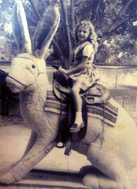 Curses of all kinds were farthest from my mind when I rode the giant bunny in 1947 or 48.