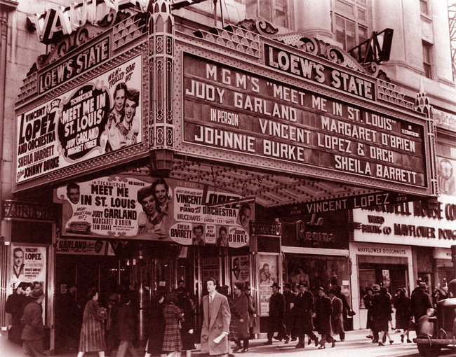 Loew's State was expensive -- a dime. The cheaper theaters nobody photographed.