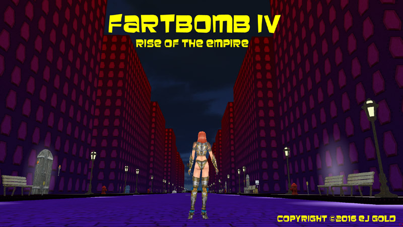 laugh your ass off playing fartbomb, the latest wild and crazy game from goddgames.