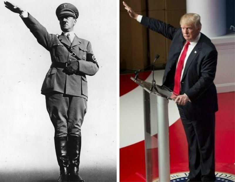 POP QUIZ: Is Donald Trump the Reincarnation of Hitler, or ...